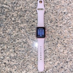 Rose Gold Apple Watch series 1 38mm